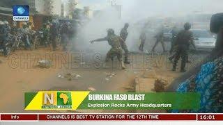 Explosion Rocks Army Headquarters In Burkina Faso |Network Africa|