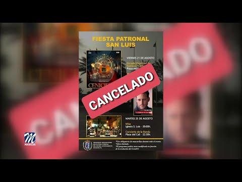 Se suspenden los actos con motivo de la celebración de San Luis