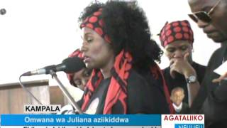 getlinkyoutube.com-Omwana wa Juliana aziikiddwa.
