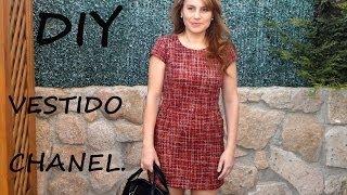 getlinkyoutube.com-Vestido tipo chanel diy. Patrón del vestido en tienda.patronesmujer.com