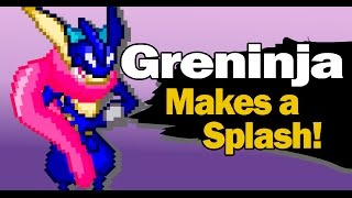 getlinkyoutube.com-Challenger From the Shadows -  Greninja , Charizard - Retro Pixels version
