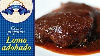 getlinkyoutube.com-Lomo de cerdo adobado // Las Recetas de Rosy