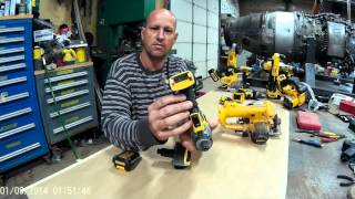 getlinkyoutube.com-Dewalt Lithium battery to nicad adapter.  20V/12V to 14.4V/18V