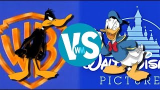 getlinkyoutube.com-Donald Duck vs. Daffy Duck