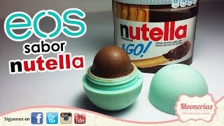getlinkyoutube.com-💞 💞  ∞ EOS de Nutella FÁCIL DIY/Nutella EOS DIY EASY  ∞ 💞 💞