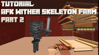 getlinkyoutube.com-Minecraft: AFK Wither Skeleton Farm (Part 2)