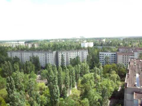 Pripyat Town – 17 Floors up – overlooking the city