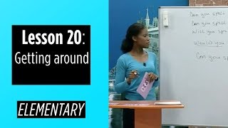Elementary Levels - Lesson 20: Getting around