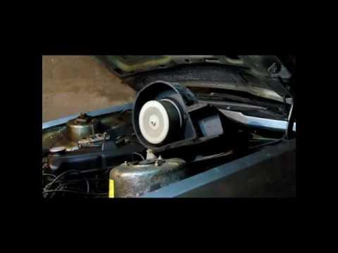 Как снять печку на Opel Rekord E 1986