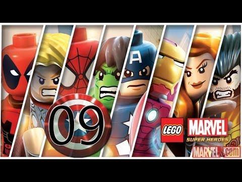 LEGO Marvel Super Heroes detonado PC - parte 9 Reiniciado Ajustado