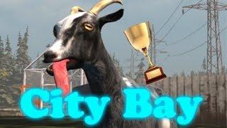 getlinkyoutube.com-All trophies City Bay | Goat simulator IOS