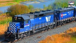 getlinkyoutube.com-Montana Rail Link Freight Trains!