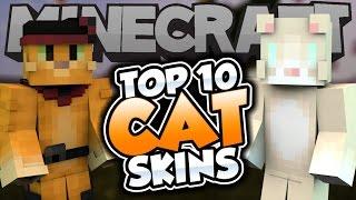 getlinkyoutube.com-Top 10 Minecraft CAT SKINS! - Best Minecraft Skins