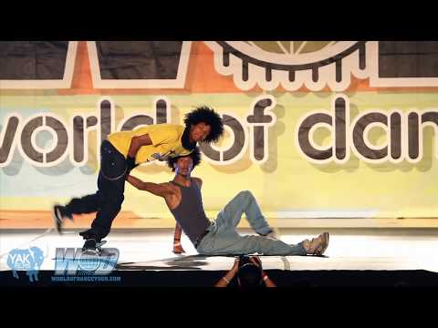 LES TWINS World of Dance San Diego 2012 WOD | YAK FILMS