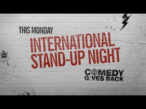 Comedy Gives Back Presents International Stand-Up Night - YouTube Comedy Week Live