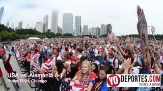USA vs Alemania Petrillo Music Shell at Butler Field
