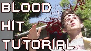 Realistic Blood Hit - After Effects Tutorial #3