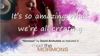 Glorious with lyrics by David Archuleta width=