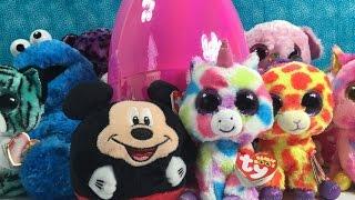getlinkyoutube.com-Pink Egg of Awesomeness Shopkins Unicornos Frozen MLP Blind Bag Unboxing