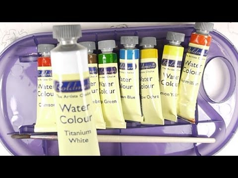 Watercolour 101 - get started with Water colour painting