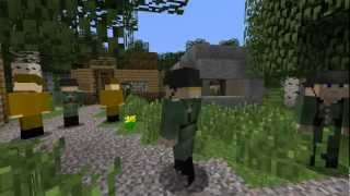 getlinkyoutube.com-[Minecraft Machinima WW2] Bohaterowie 1939 [Heroes of 1939] Part 1