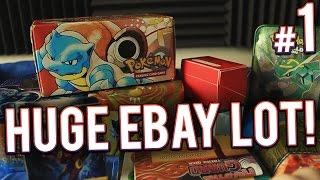 getlinkyoutube.com-Pokemon Cards - HUGE eBay Lot | PART 1 of 5
