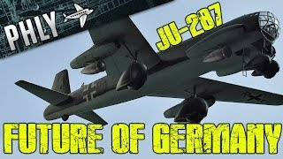 getlinkyoutube.com-War Thunder- Horten Ho 229- ME-262 HG II - Future of German Aviation - War Thunder Gameplay