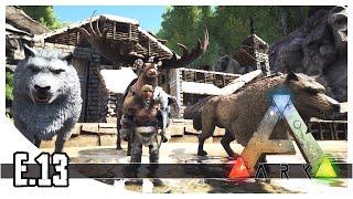 getlinkyoutube.com-ARK: Survival Evolved - Winter Biome, Dire Wolf & Megaloceros - EP.13