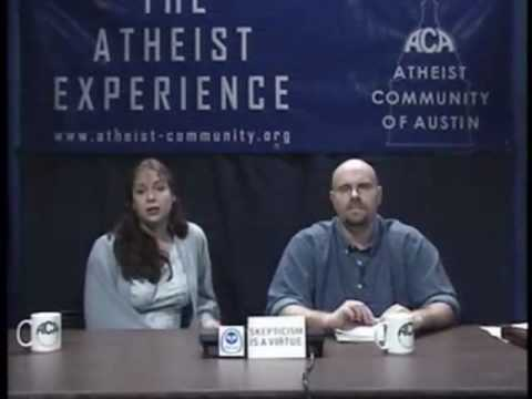 Three Reasons To Believe In God - Atheist Experience 339