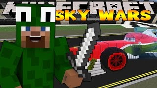 getlinkyoutube.com-Minecraft Challenge -RACE TRACK SKY WARS!