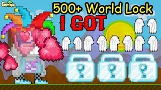 getlinkyoutube.com-Growtopia | I Got Donate +500 World Lock!