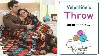 getlinkyoutube.com-How to Crochet An Afghan: Valentine's Throw