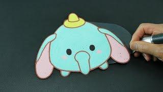 getlinkyoutube.com-Pancake Art - Tsum Tsum | Disney | Dumbo by Tiger Tomato