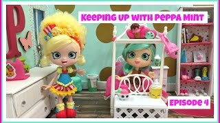 getlinkyoutube.com-Keeping Up with Peppa Mint | Episode 4 | Popette is Back !!! | Shopkins Shoppies
