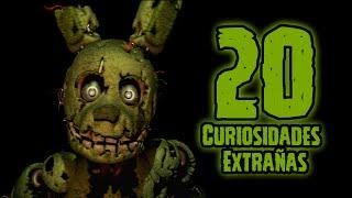 getlinkyoutube.com-TOP 20: Las 20 Curiosidades Extrañas De SpringTrap En Five Nights At Freddy's 3 | fnaf 3