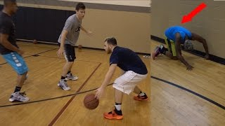 getlinkyoutube.com-2 V 2 BASKETBALL CASH & JESSER vs LOS & TTG