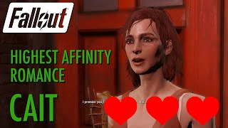 getlinkyoutube.com-Fallout 4 - Cait Highest Affinity Romance