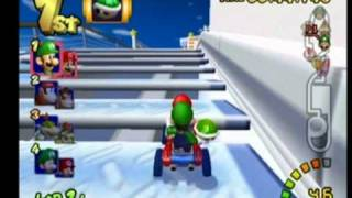 getlinkyoutube.com-Mario Kart Double Dash - Mario & Luigi - Flower Cup 100cc