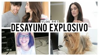 getlinkyoutube.com-Desayuno explosivo | Vlog 41