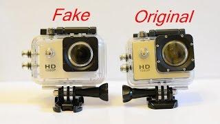 SJCAM SJ4000 WIFI original vs Fake buy the original on Aliexpress