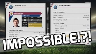 getlinkyoutube.com-FIFA 15 - IMPOSSIBLE TO SIGN MESSI?!? - Fifa 15 Mythbusters - Is It Possible To Sign Messi?