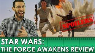 getlinkyoutube.com-Star Wars: The Force Awakens Movie Review [SPOILERS] (Belated Media)