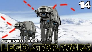 """LEGO STAR WARS The Complete Saga Ep 14 - """"Epic Hoth Battle!!!"""""""