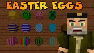 getlinkyoutube.com-HUEVOS SORPRESA!!| EASTER EGGS MOD | Minecraft Mod Review