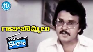 getlinkyoutube.com-Gaaju Bommalu Movie Scenes - Prabhakar Fires On Sarath Babu    Gummadi    Sangeetha