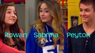 getlinkyoutube.com-Peyton Meyer and Rowan Blanchard VS Peyton Meyer and Sabrina Carpenter