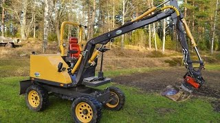 getlinkyoutube.com-Homemade excavator - Fodere