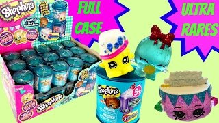 getlinkyoutube.com-SHOPKINS SEASON 4 Food Fair Canisters Full Case! Ultra Rares! Limited Edition Hunt!