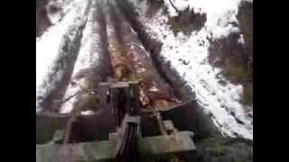 getlinkyoutube.com-Ťažba dreva 9,8 kubika