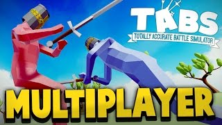 getlinkyoutube.com-Totally Accurate Battle Simulator - MULTIPLAYER CHALLENGE ft. DRAEGAST! (TABS Sandbox Gameplay)